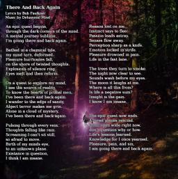 Insanity's Realm Lyrics Insert 2